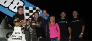Shane Shines in ASCS Finale at Yuma