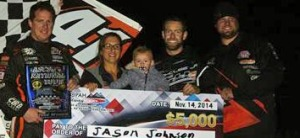 Jason Johnson Gets First ASCS National Win of 2014