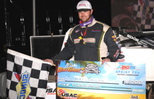 Ballou Best in USAC Winter Dirt Games Opener