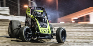 Stockon Leads USAC to Lawrenceburg