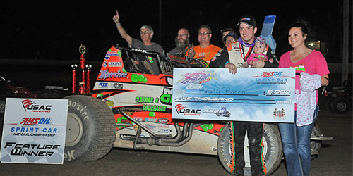 Bacon Denies Ballou in Spring Classic