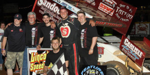 Dietrich Tunes Up for Outlaws with Lincoln Win