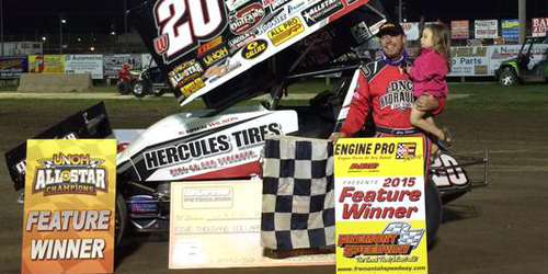 Wilson Slows Blaney's Roll with Second Speedweek Score