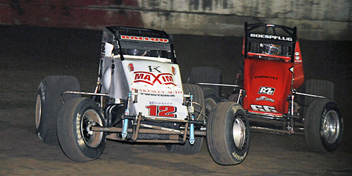 Ballou Pads Infinity Shocks Non-Wing 410 Power Rankings Lead