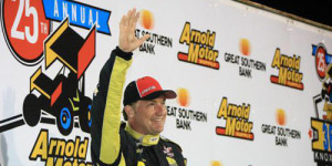 McCarl Goes Wire-to-Wire for Fourth Knoxville 360 Nationals Crown