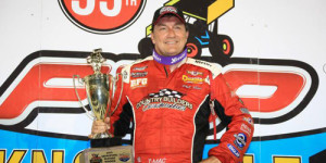 T-Mac on Thursday at Knoxville Nationals