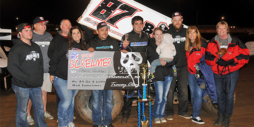 Reutzel Rallies to Win Thursday STN Sprint Screamer