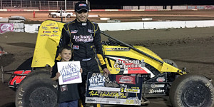 Hodges Hustles to Winter Challenge Round Three Victory Lane
