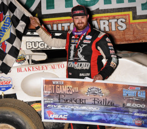 Ballou Back on Top at Winter Dirt Games