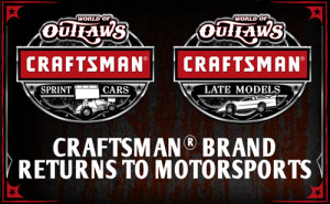 Craftsman to World of Outlaws as Title Sponsor