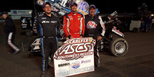 Carney Claims $5K at Cruces