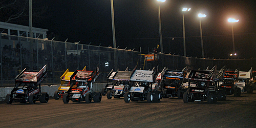 World of Outlaws Invade I-30 Speedway on April 26