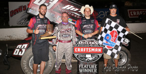 Saldana Guns Down Outlaws in Texas Nationals Opener
