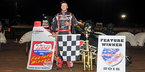 Shebester Scores as POWRi West Midgets Debut at I-30