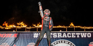 Boespflug Bests USAC at Eldora