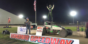 Clauson Finishes the Double in Victory Lane