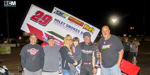 Croft Opens Bradway Weekend in Victory Lane