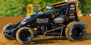 KT Cracks USAC Victory Lane