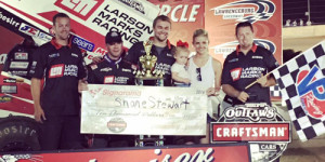 Stewart Prevails at The Burg
