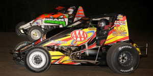 Weir Steers to First USAC Triumph