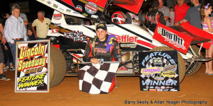 Brandon Rahmer Gets Second Lincoln Win