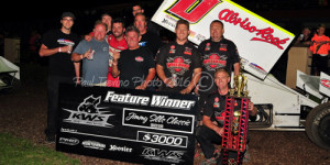 Bud Snares Sills Classic on the Last Lap
