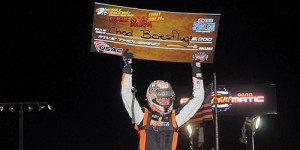 Boespflug Soars to USAC Victory Lane at Eagle