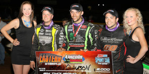 Clauson Storms to Victory Lane Again