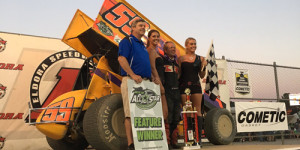 Wild Child Strikes in Ohio Speedweek Finale