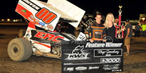Eliason Sweeps KWS Weekend