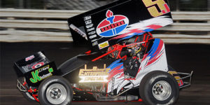 Ball Rolls to Knoxville 360 Nationals Opening Night Victory Lane