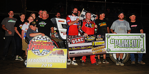 RJ Johnson Strikes Late for another Freedom Tour Triumph
