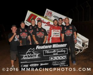 Bud Kaeding Wires KWS Field at Placerville