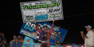 Dewease Does It in Tuscarora 50