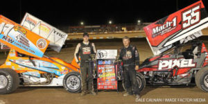 Horstman & Smith Split Canadian Nationals Opener Honors