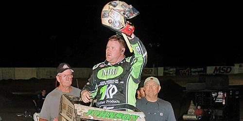 RJ Johnson Takes Final El Paso Checkered Flag