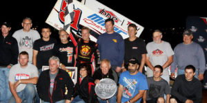 Stevie Cashes In at Lincoln Dirt Classic