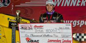 Hodges Hustles to First USAC National Score