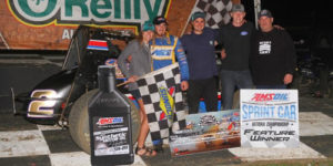 Schuerenberg Shines in Winter Dirt Games