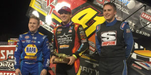 Cajun is Ragin' in World of Outlaws Season Opener