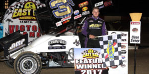 AJ Maddox Wins First North American Sprint Car Feature of 2017