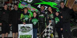 Schatz Strikes for Win in All Star Opener