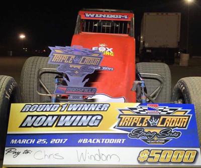 Helms & Windom Take Triple Crown Opener Honors