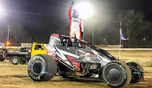 Grant Lands Plymouth USAC Honors