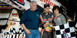 Freddie Rahmer Flies to Williams Grove Victory