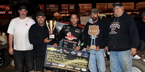 USAC/CRA's Salute to Indy Goes to Gardner