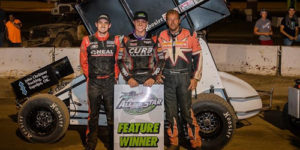 Bayston Goes the Distance for Ohio Sprint Speedweek Win