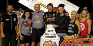 Brown Tops Speedweek Field at Moberly