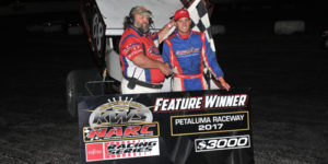 Chase Johnson Scores First KWS-NARC Win