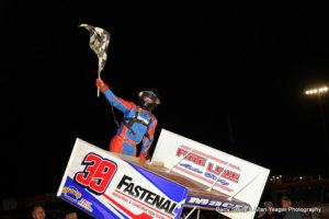 17-Year-Old Macri Gets First 410 Win